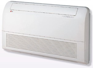 Midwall Inverter Air Conditioner Hot and Cold Temperature Control